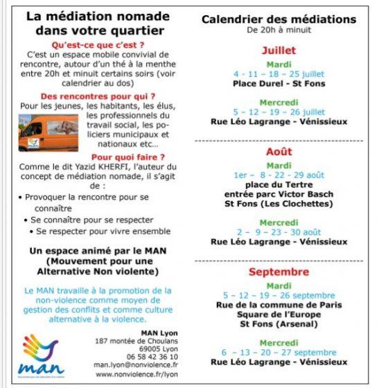 dates dupliquer à Lyon juillet à Septembre 2017